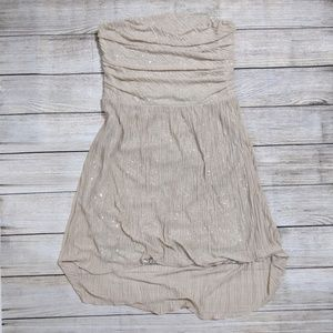 Bandeau high low Bandeau Dress